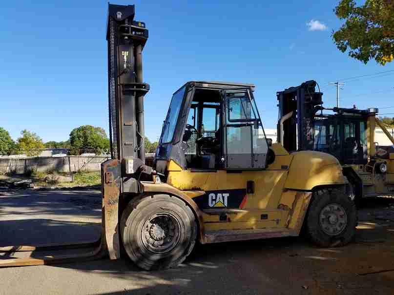 Cat DP160N 18 ton 36,000lbs pneumatic tire Perkins diesel engine outdoor forklift